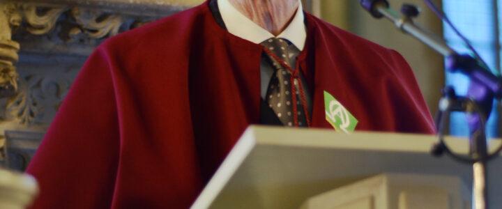 Eredoctoraat voor ds. Henk de Jong