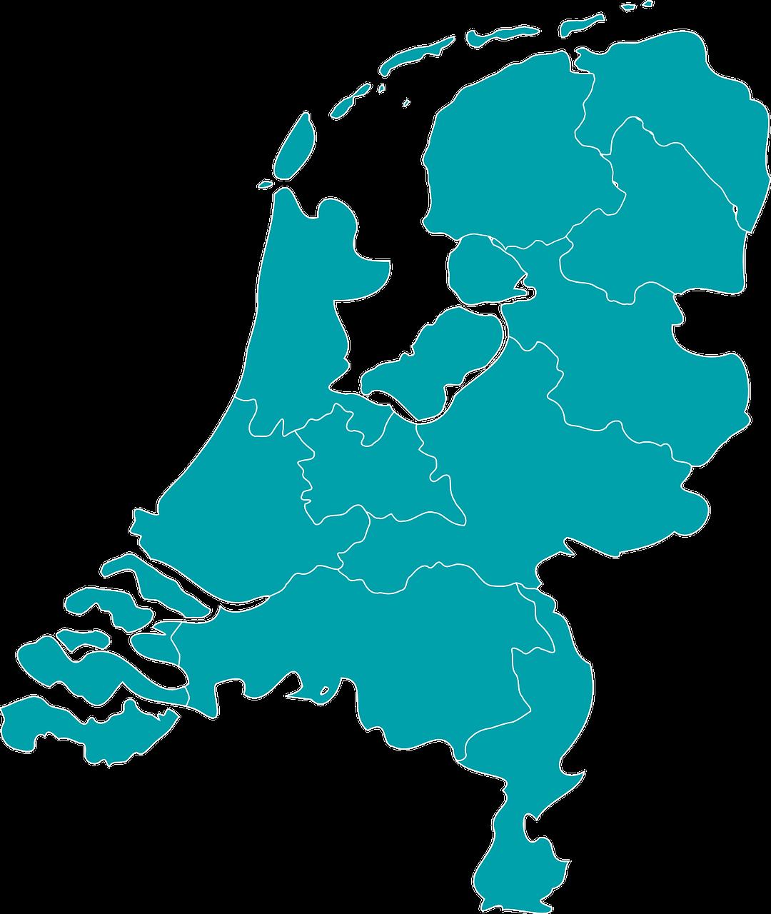 Voorstel regio-indeling na hereniging